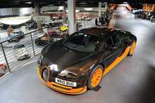 The Bugatti is the world's fastest car, at 434 km/h. Photo / Supplied