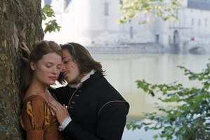 Marie de Mezieres (Melanie Thierry) is in love with her cousin Henri de Guise (Gaspard Ulliel) in The Princess of Montpensier. Photo / Supplied