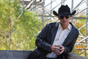 Matthew McConaughey plays a hit man in Killer Joe, the first feature film by director WIlliam Friedkin since 2006. Photo / Supplied