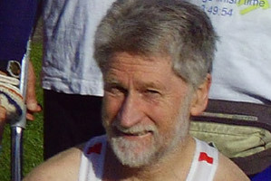 Hokitika born Bill O'Connor, who has run every London Marathon since it began, will carry the Olympic Torch there Wednesday. Photo / Supplied