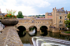 Bath's Pulteney Bridge, like the Ponte Vecchio in Florence, is lined with shops. Photo / Thinkstock