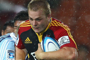 Chiefs' flanker Sam Cane has again been left on the bench for the Super Rugby semifinal against the Crusaders on Friday. Photo / Getty Images.
