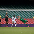 Football Ferns goalkeeper Jenny Bindon is unable to stop Great Britain's Stephanie Houghton goal. Photo / Brett Phibbs