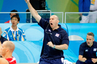 Hugh McCutcheon is hoping to coach the US women's volleyball team to an historic first gold. Photo / Kenny Rodger