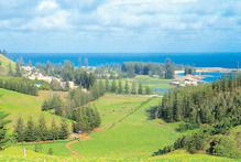 Tourists have an easy time of navigating Norfolk Island, which is just  35 sq km, and some local knowledge will help them appreciate the significance of landmarks. Photo / Kerri Jackson