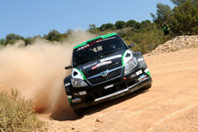 Hayden Paddon has joined a new team for the second half of the 2012 rally season. Photo / Getty Images.