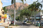 Townsville, with Castle Hill in the background. Photo / Colin Espiner