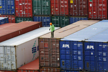 Overall primary sector export revenue in the first quarter of 2012 was 2.4 per cent lower than in the same period last year. Photo / AP