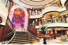 The Queen Victoria's Grand Lobby. Photo / Supplied