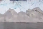 A massive glacier, the size of Manhattan, has broken off in Greenland resulting in massive waves.  This video, posted on YouTube by LiveLeakTube, shows the impact of the waves.