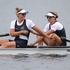 New Zealand rowers Rebecca Scown and Juliette Haigh winning Bronze in the Women's Pair Final, at Eton Dorney during the 2012 London Olympics.  Photo / Brett Phibbs