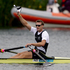 New Zealand rower Mahe Drysdale in action in the Semifinal of the Men's Single Sculls, at Eton Dorney during the 2012 London Olympics. Photo / Brett Phibbs