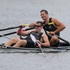 New Zealand Double Scull pair of Nathan Cohen and Joseph Sullivan win Gold in the Men's Double Sculls Rowing Final at Eton Dorney during the 2012 London Olympics. Photo / Brett Phibbs