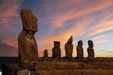Monolithic moai carvings on Rapa Nui (Easter Island). Photo / Thinkstock