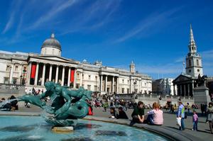 Trafalgar Square, London. Photo / Thinkstock