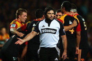 Referee Steve Walsh. Photo / Getty Images.