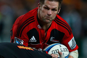 Richie McCaw during the semi final match between the Chiefs and the Crusaders. Photo / Getty Images
