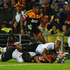 Tim Nanai-Williams of the Chiefs scores a try. Photo / Getty Images