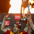 Liam Messam of the Chiefs celebrates with the trophy. Photo / Getty Images