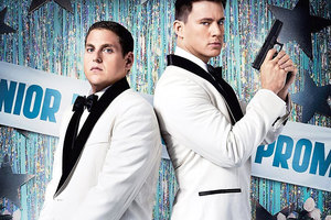 Jonah Hill and Channing Tatum turn 21 Jump Street into a comedy. Photo / Supplied