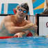 London Olympics 2012: New Zealand's Glenn Snyders is congratulated by Canada's SCott Dickens after competing in his Olympic Games 400m 100m breaststroke heat at Olympic Park, London. Photo / Brett Phibbs
