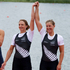 New Zealand rowers Juliette Haigh and Rebecca Scown during the Medal ceremony after winning Bronze in the women rowing pair final at Eton Dorney during the 2012 London Olympics. Photo / Brett Phibbs