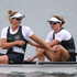New Zealand rowers Rebecca Scown and Juliette Haigh win Bronze in the Women's Pair Final, at Eton Dorney. Photo / Brett Phibbs