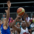 United States' Kobe Bryant shoots for the basket, in the Group A preliminary round men's basketball match. Photo / Brett Phibbs