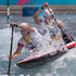 Piotr Szczepanski and Marcin Pochwala from Poland in action during the Heats of the Canoe Slalom, Canoe Double (C2) Men, held at Lee Valley White Water Centre. Photo / Brett Phibbs