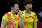 World doubles champions Wang and Yu, and their South Korean opponents were booed loudly at the Olympics for appearing to try and lose their group match to earn an easier draw. Photo / AP