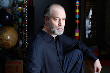 Canadian author and artist Douglas Coupland. Photo / Supplied