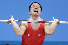 Watching the Olympics can be a painful experience. Photo / AP