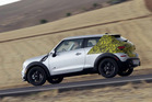 Mini has posted official spy shots of the 2013 Paceman on its Facebook page. Photo / Supplied