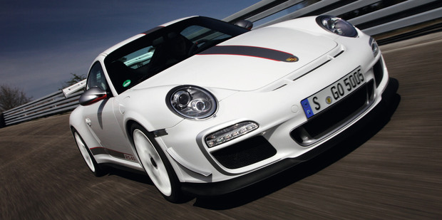The limited edition GT3 RS 4.0 belongs on the racetrack. Photo / Supplied