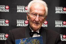 'New Zealand's Native Trees', by former Victoria University associate professor of botany Dr John Dawson, took NZ Post Book of the Year honours tonight. Photo / Natalie Slade