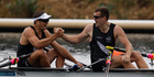 View: Olympics: Kiwi rowers win gold