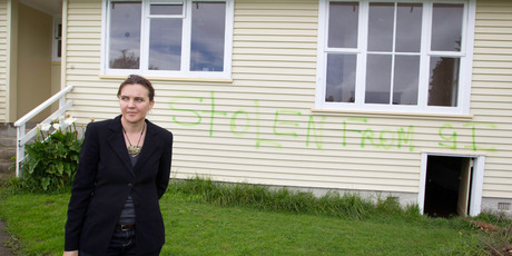 Fleur Palmer is architect of a project that will use Glen Innes houses for homeless families in Kaitaia - a plan that has been called 'morally repugnant'. Photo / Richard Robinson