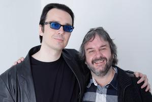 Damien Wayne Echols and Peter Jackson. Photo / file