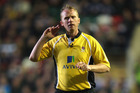Controversial rugby referee Wayne Barnes.  Photo / Getty Images