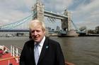 Mayor of London, Boris Johnson. Photo / AP