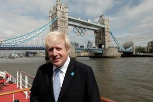 London Mayor Boris Johnson. Photo / AP.