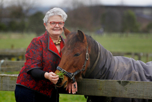 Over the past 22 years Sandra Shearer has travelled throughout New Zealand investigating complaints about horse welfare.  Photo / Christine Cornege
