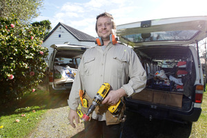 Mark Warner has useful tips on how to tackle kitset furniture.  Photo / Michael Craig