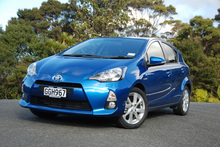 Hybrid powertrain in a compact package creates a sweet-handling Prius c. Photo / Jacqui Madelin