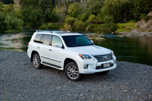 The Lexus LX570 boasts a myriad of luxury features.