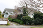 A view of the house on Boucher Avenue where a stabbing happened in Te Puke. Photo / Supplied
