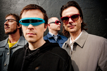Nineties heroes, Weezer. Photo / Supplied