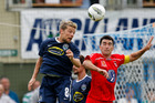 Auckland City and Waitakere United may soon face competition from a third team in the city. Photo / Shane Wenzlick