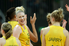 The Australian women's basketball team sat in economy, unlike their male counterparts who were treated to more leg room in business.