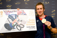 Bradley Wiggins went on a bender following his gold medal win. Photo / AP.